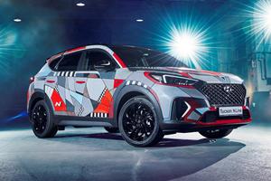 Hyundai Art Car Celebrates Tucson SUV