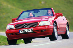 The Boxy R129 Mercedes SL Is A 90s Classic