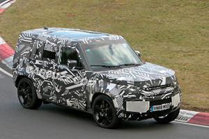 New Land Rover Defender Takes On The Nurburgring