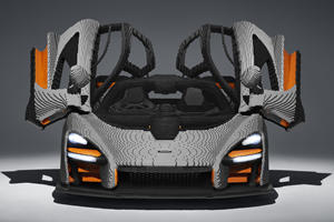 Lego McLaren Senna Looks Better Than The Real Thing