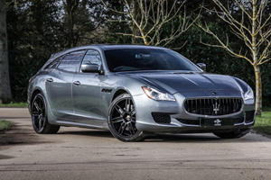 Maserati Quattroporte Converted Into Stunning Shooting Brake