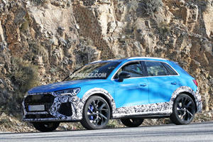 Audi RS Q3 Prototype Shows Off Some Amazing Colors