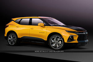 Chevrolet Blazer SS To Debut At New York With 400 HP