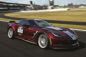Corvette Grand Sport To Lead The Pack At Indy