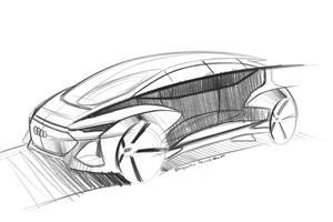 Audi Previews Futuristic City Car Concept With Advanced AI Tech
