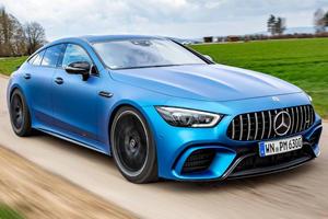 Mercedes-AMG GT 4-Door Coupe Becomes 730-HP Monster