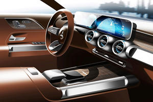 Mercedes Teases Baby G-Wagen