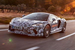 Get Ready For The Comfortable McLaren Grand Tourer