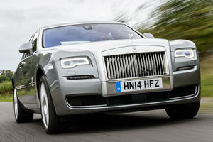 Lighter AWD New Rolls-Royce Ghost Arriving Next Year