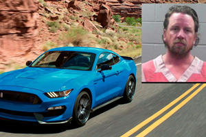 Mustang Driver Arrested After Filming Himself Going Over 185 MPH