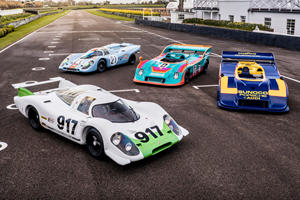 Porsche Hasn't Brought 917s Together Like This In Decades