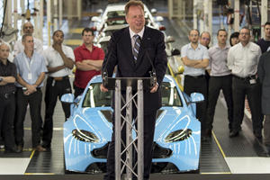 Aston Martin Says Mergers Are Inevitable
