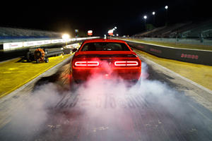 Watch A Dodge Challenger SRT Demon Hit 211 MPH