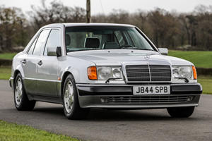 Guess Who's Selling His Rare V8-Powered Mercedes 500 E?