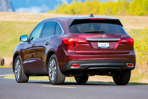 Keep Your Distance From The Acura MDX