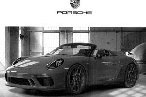 Porsche 911 Speedster Coming To New York Auto Show