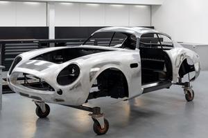 $8 Million Aston Martin DB4 GT Zagato Continuation Takes Shape