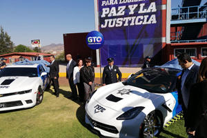 Mexican Cops Adding Criminals' Sports Cars To Its Fleet