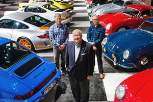 Massive Gas Explosion Decimates Rare Porsche Collection
