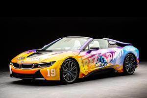 Khalid Creates Crazy BMW i8 Art Car