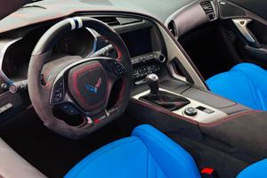 Custom Corvette Z06 Comes With Wild Interior