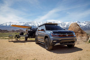 Volkswagen Atlas Basecamp Concept Ready For Off-Road Adventures