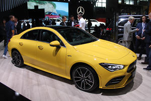 Mercedes-AMG CLA35 AMG Looks Awesome In Yellow
