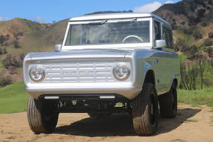 This Is The World's First Fully Electric Ford Bronco