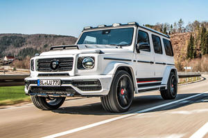 Modified Mercedes-AMG G63 Is For The Filthy Rich