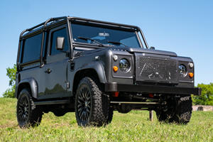 This Custom Land Rover Defender Packs A Corvette V8