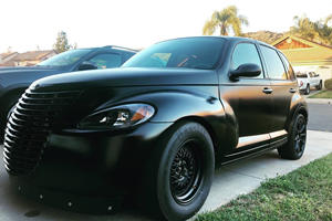 Chrysler PT Cruiser Transformed Into 808-HP Hellcat Fighter