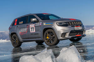Jeep Grand Cherokee Trackhawk Is The Fastest SUV On Ice