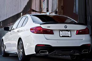 BMW 5 Series Carbon Edition Gives Luxury Sedan A Sporty Edge