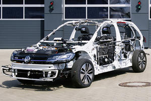 Volkswagen Golf Gets Its Skin Ripped Off