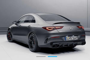 2020 Mercedes-AMG CLA 45 Breaks Cover Early