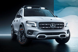 Mercedes Might Build A Rugged Off-Roading GLB