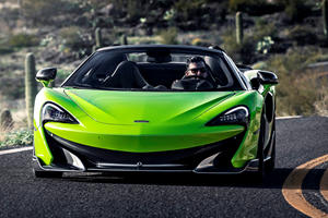 McLaren 600LT Spider Arrives In America With Eye-Popping Price Tag