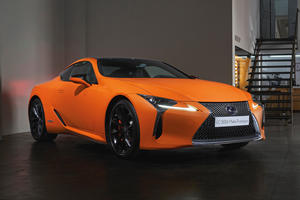 Lexus Dazzles With New Special Edition LC 500