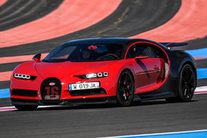 Bugatti Chiron Sport Tested At Legendary F1 Circuit
