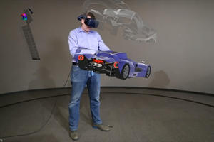 Ford Designing Vehicles Using 3D Virtual Reality