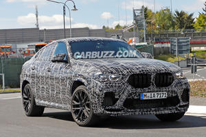 New BMW X6 M Preparing To Battle Lamborghini Urus