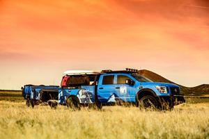 This Nissan Titan XD Goes Where Few Trucks Can