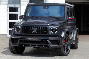 Mercedes-AMG G63 Gets Menacing Carbon Fiber Makeover