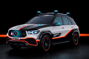 This Mercedes GLE Is A Dazzling Display Of Future Tech