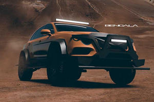 Bentley Bentayga Transformed Into Brutal Off-Roader