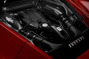 Ferrari Hybrid Supercar's Engine Revealed?