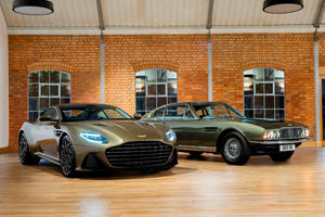 Aston Martin DBS Superleggera Celebrates A James Bond Icon