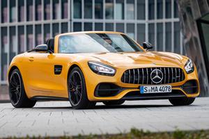 Compare Jaguar F Type Svr Convertible Vs Mercedes Amg Gt Roadster Vs