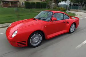 Jay Leno Drives The Spectacular Porsche 959