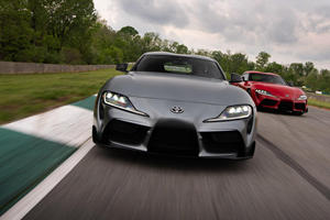 Here's What Toyota Said About A Manual Supra